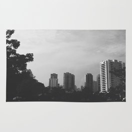 Sao Paulo Black and White Rug