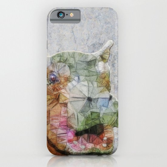 abstract hippo iPhone & iPod Case