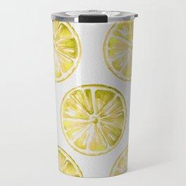 Yellow Citrus Travel Mug