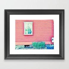 Past Perspective Framed Art Print
