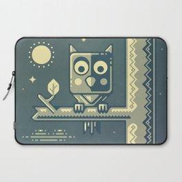 Night owl graphic design Laptop Sleeve
