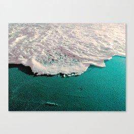 weird beach Canvas Print