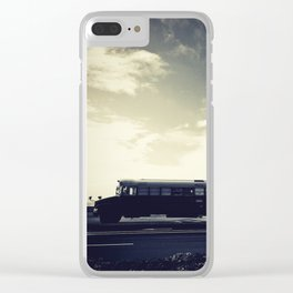 we bus Clear iPhone Case