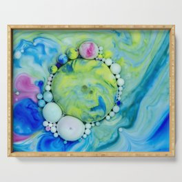 Bubbles-At - Gazer Serving Tray