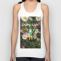 percy jackson Tank Tops featuring Percy - Enjoy Life by Rich Mitch Pics