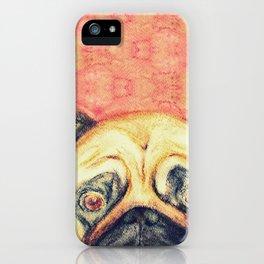 Grunt The Pug iPhone Case