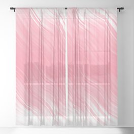 Stripes Wave Pattern 10 pwi Sheer Curtain