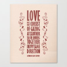 Love Direction Canvas Print
