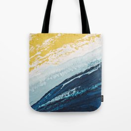 SUNRISE BEACH | Acrylic abstract art by Natalie Burnett Art Tote Bag