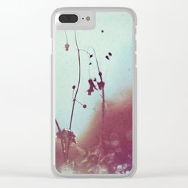 MAGICAL MORNING Clear iPhone Case