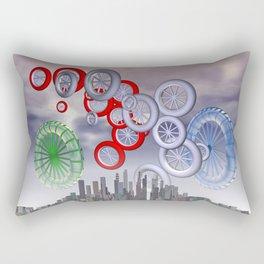 modern life Rectangular Pillow