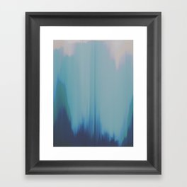 Cool Wave Framed Art Print