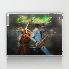 fifties cocktail jazz Laptop & iPad Skin