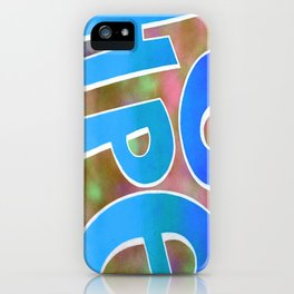 Hope Spray Paint 5 iPhone Case