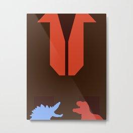 Firefly Minimalist Poster - Wash Metal Print