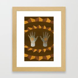 The English Accent - (ASL Marquetry Series) Framed Art Print