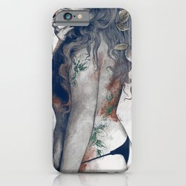 Koi No Yokan: Blue Rust iPhone Case