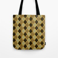 moroccan Tote Bags featuring Moroccan  by Zetanueta