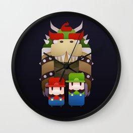 Famous Bros. Wall Clock