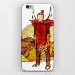 fisher muzh iPhone Skin