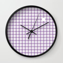 Geometric Patterns Wall Clock