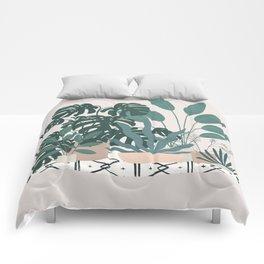 houseplant gang Comforters