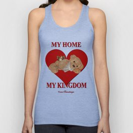 My Home, My Kingdom - Red Unisex Tank Top