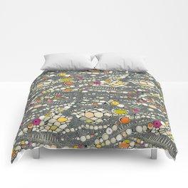 iguana skin indigo pop Comforters