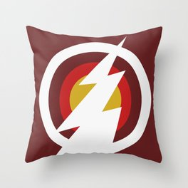 Speedster (Colored) Throw Pillow