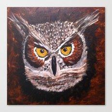 Night Owl... Canvas Print