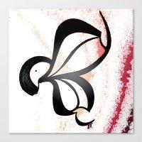 wiz khalifa Canvas Prints featuring Wiz by Je Nie Fleming