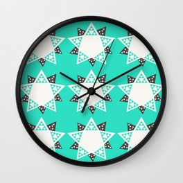 The Fault is not in our Stars But In Ourselves - Star Geometry  Wall Clock