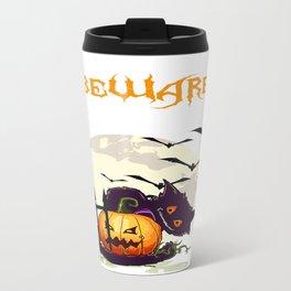 Halloween around the corner Travel Mug