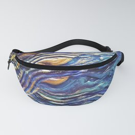 Abstract nautical background Fanny Pack