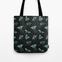Jade Butterflies Tote Bag