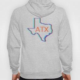 ATX Austin, Texas Retro Neon Lights Hoody