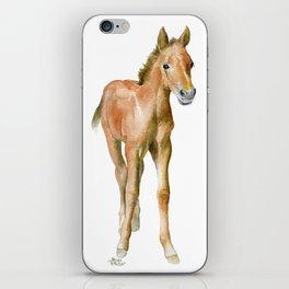 Watercolor Horse Painting iPhone Skin
