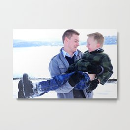 Bree and Family3 Metal Print