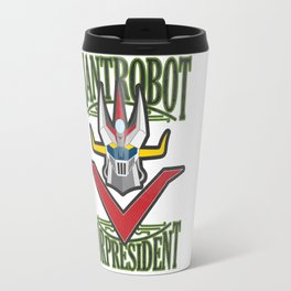manga robots: great mazinger for president Travel Mug