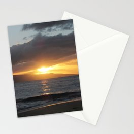 MAKENA BEACH SUNSET 2 Stationery Cards