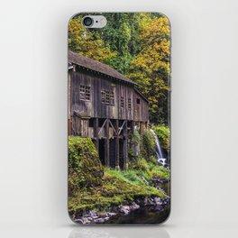 Cedar Creek Grist Mill iPhone Skin