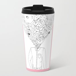Mind-Blowing Doodles Travel Mug