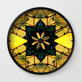 Luminous faces Wall Clock