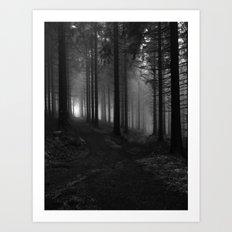 Choose your way Art Print