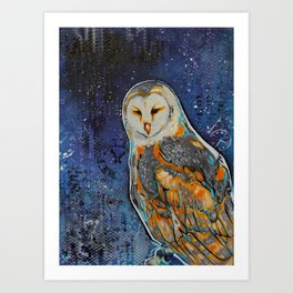 Feathers of Time Art Print