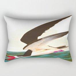 Black Skimmer or Shearwater Bird Rectangular Pillow