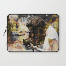 The Floral Photographer Laptop Sleeve