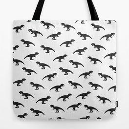 T-Rex Pattern Tote Bag