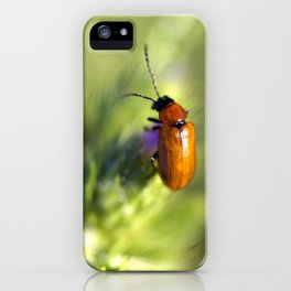 Red Bug iPhone Case