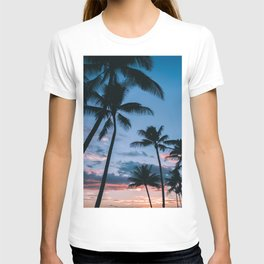 Palm Trees at Sunset T-shirt